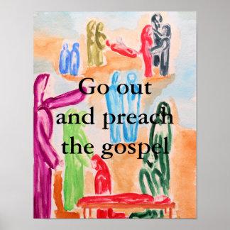 Witness The Gospel Poster