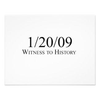Witness to History 1 20 09 Invitation