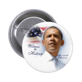 Witness to History Pinback Button