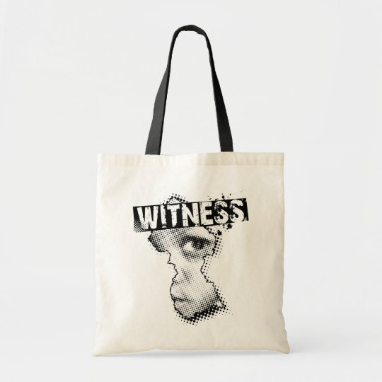 WITNESS tote