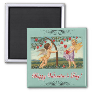 Witnesses of Love 2 Inch Square Magnet