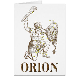 WITS: Orion Greeting Card
