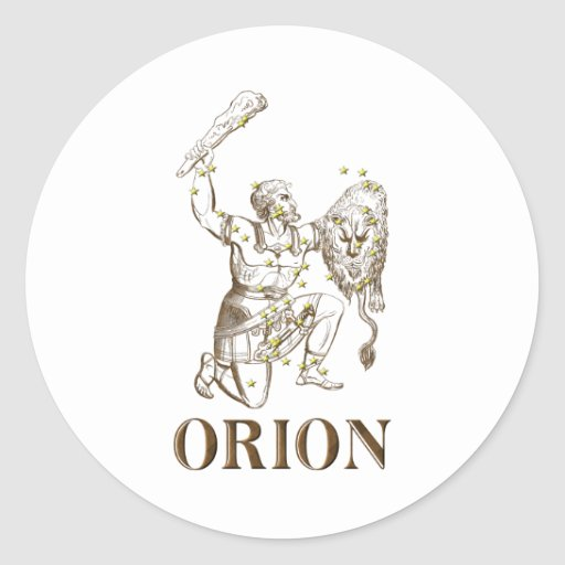 WITS: Orion Classic Round Sticker