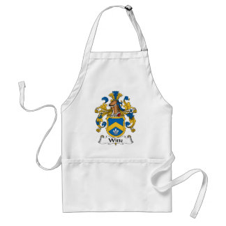 Witte Family Crest Adult Apron