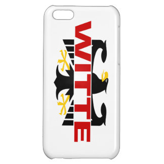 Witte Surname iPhone 5C Cover
