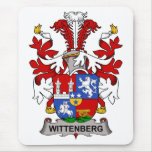 Wittenberg Family Crest Mouse Pad