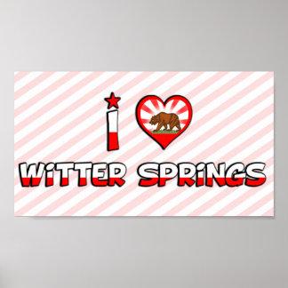 Witter Springs, CA Print