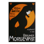 Wittwe Dalila Berliner Morgenpost Poster