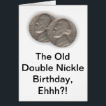 """Witty 55th Birthday Card<br><div class=""""desc"""">How do say the proper thing in a birthday card when the recipient is turning 55 and isn&#39;t as quite up to your speed of humor but likes a little laugh nonetheless? Here it is that perfect birthday card that doesn&#39;t insult yet evokes a chuckle and a compliment at the...</div>"""