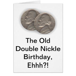 Witty 55th Birthday Card