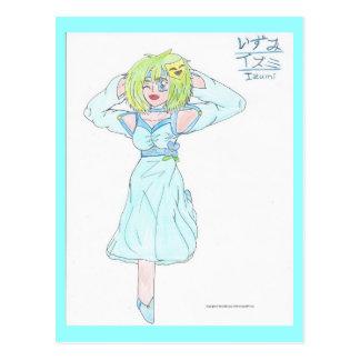 Witty Izumi Postcard