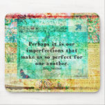 Witty Jane Austen quote Mousepads