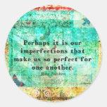 Witty Jane Austen quote Stickers