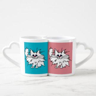 Witty Kitty Love Mugs
