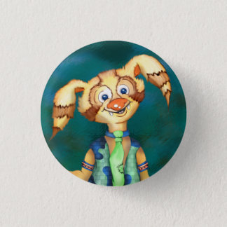 WITTY PITTY ALIEN CARTOON  Button small