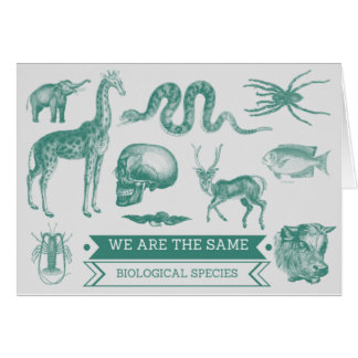 Witty Valentines Card - Biological Species Concept