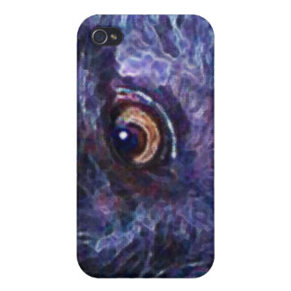 Witty Wolf's Eye-Phone iPhone Case