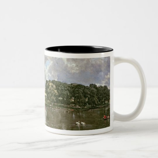 Wivenhoe Park, Essex, 1816 Two-Tone Coffee Mug