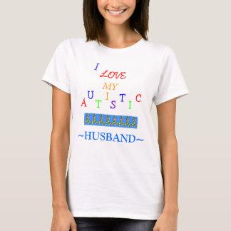 Wive's Autistic Love~Husband! ~ Adult T-Shirt