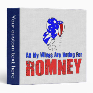 Wives For Romney Binder
