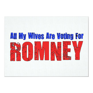 Wives For Romney Card