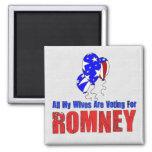 Wives For Romney Fridge Magnet