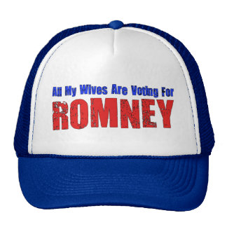 Wives For Romney Trucker Hat