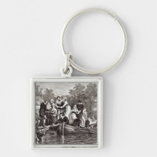 Wives for the Settlers at Jamestown Key Chain