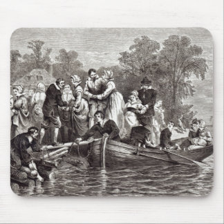 Wives for the Settlers at Jamestown Mouse Pad