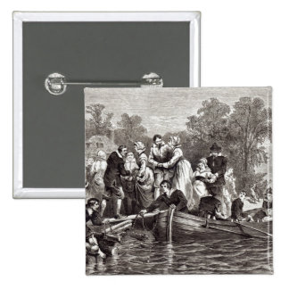 Wives for the Settlers at Jamestown Pinback Button