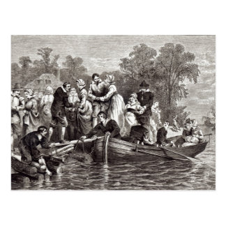 Wives for the Settlers at Jamestown Postcard