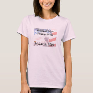 Wives of Fallen Soldiers Unite T-Shirt