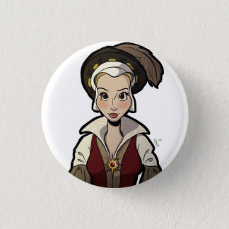 Wives of Henry VIII Badge - Catherine Parr Pinback Button