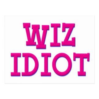 Wiz Idiot Postcard