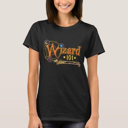 Wizard101 10th Anniversary T_shirt Female