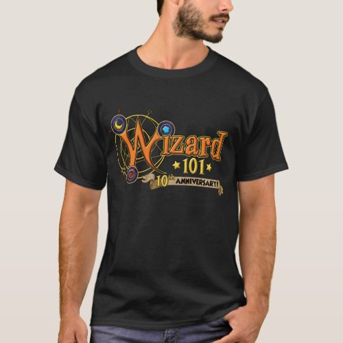 Wizard101 10th Anniversary T_shirt Male