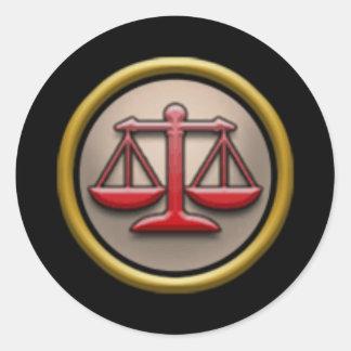 Wizard101 Balance School Stickers