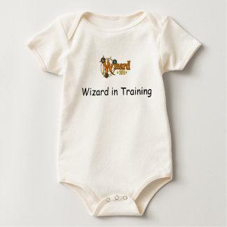 Wizard101 bebé Onesee - mago en el entrenamiento Body Para Bebé