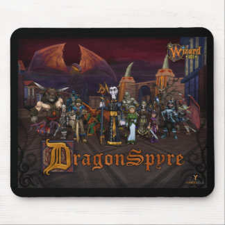 Wizard101 Dragonspyre Mousepad