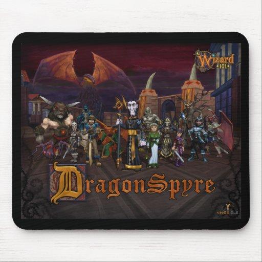 Wizard101 Dragonspyre Mousepad Tapete De Ratones