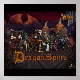 Wizard101 DragonSpyre Poster
