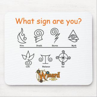Wizard101 escuela Mousepad