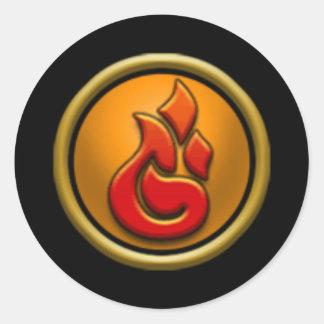 Wizard101 Fire School Stickers