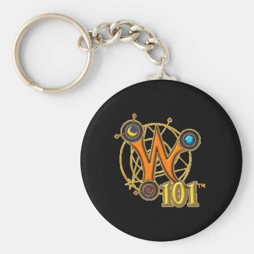 Wizard101 Keychain - Logo