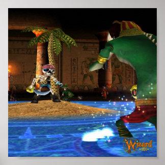 Wizard101 Krokotopia Poster