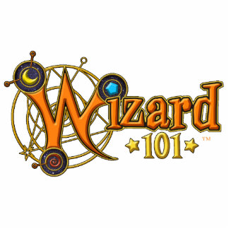 Wizard101 Logo Ornament Photo Cut Outs