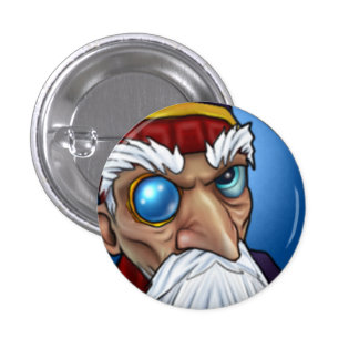Wizard101 Merle Ambrose Pinback Button