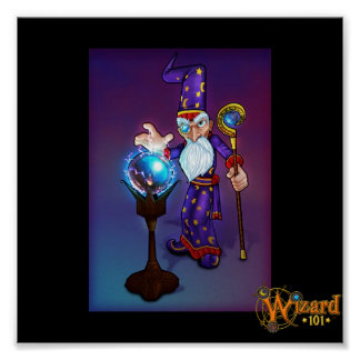 Wizard101 Merle Ambrose Poster