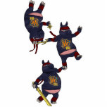 "Wizard101 Ninja Pig Ornament<br><div class=""desc"">Wizard101 Ninja Pig Ornament</div>"