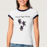 Wizard101  Ninja Pigs tshirt - Women